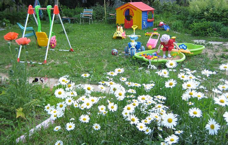Детские площадки на дачу