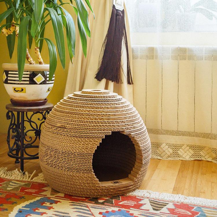 Заботимся о питомце: домик для кота в частном доме и на дачном участке