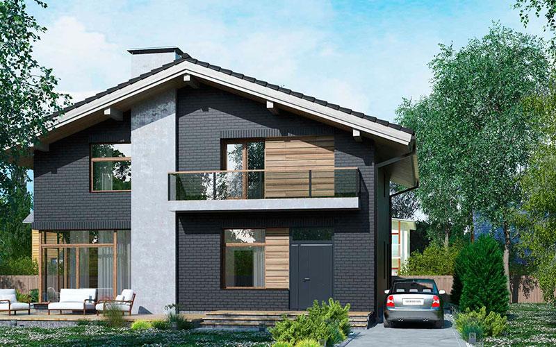 Планы двухэтажных домов: от проекта к строительству
