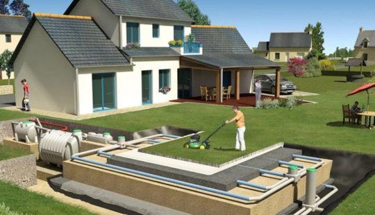 Для тех, кто хочет сэкономить, а не сесть в лужу: подробная схема канализации в частном доме своими руками