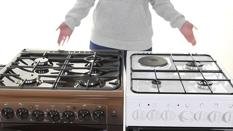 Удобная газовая плита для дачи под баллон: выбор модели и установка