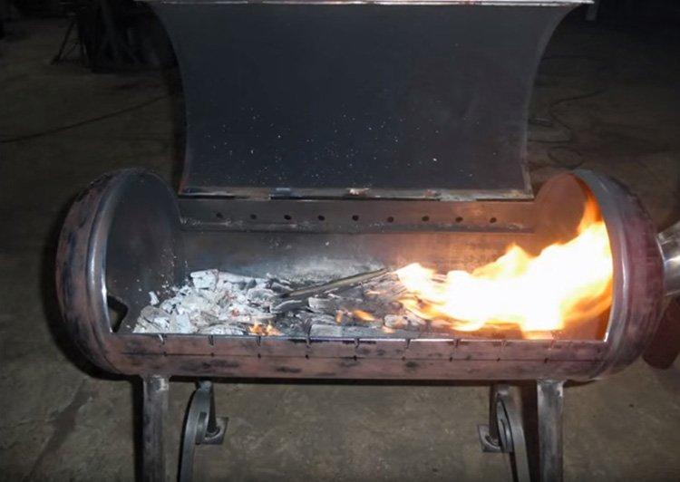 Как своими руками сделать мангал из газового баллона: подробные инструкции с фото