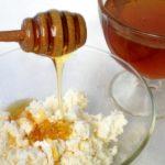 Мёд в творог