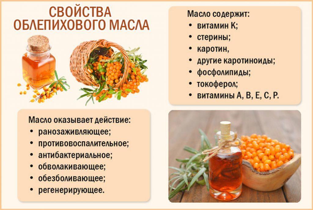 Как правильно принимать облепиховое масло при гастрите: рецепты