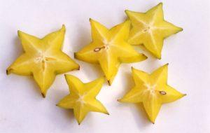 Желтые звездочки