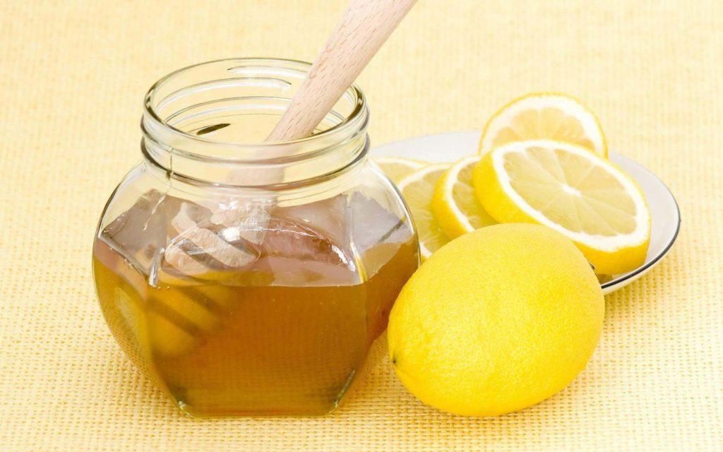 Лимон с медом