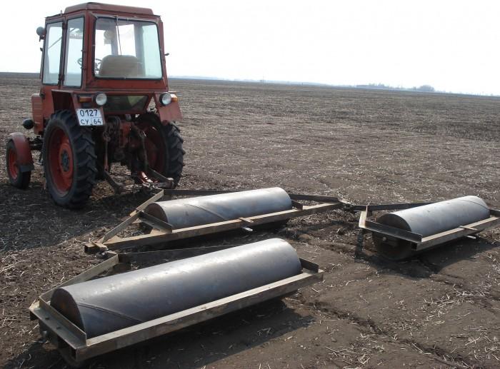 Катки для прикатывания почвы