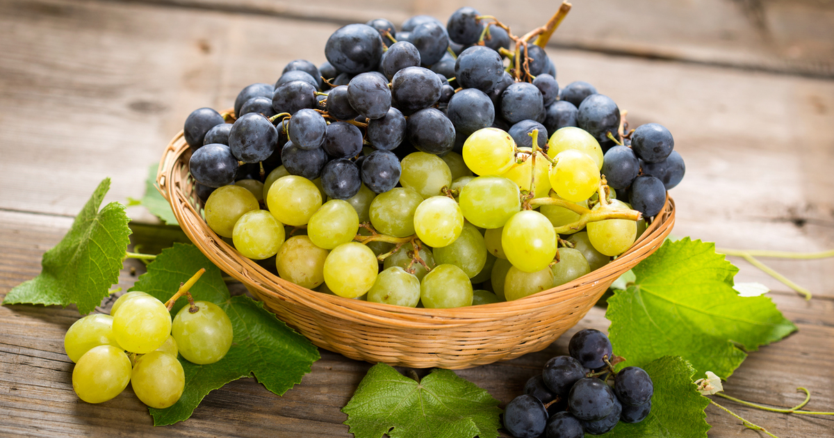 Виноград при запоре