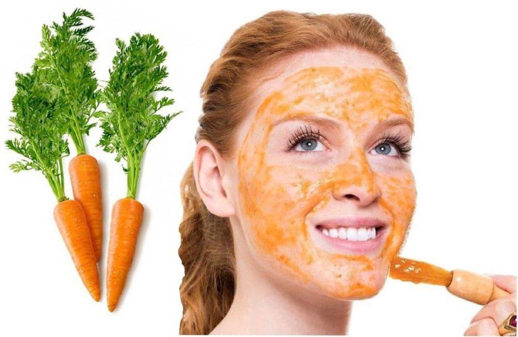 морковь для лица