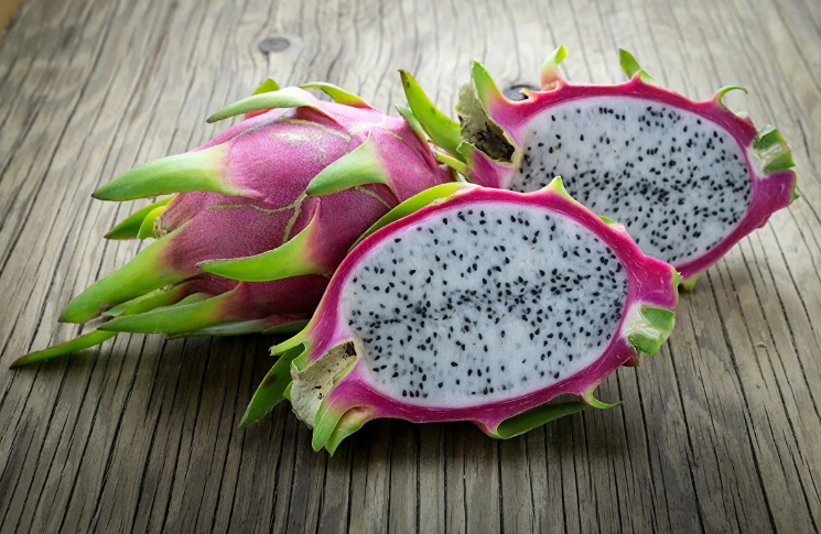 ПИТАЙЯ (питахайя) фрукт дракон - как едят, витамины и сорта || Питахайя как чистить