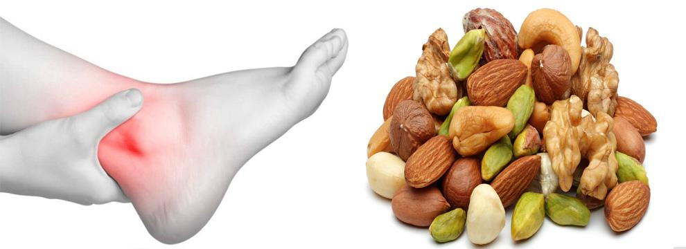 Какие орехи можно есть при подагре