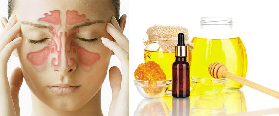 Мед и масло от гайморита