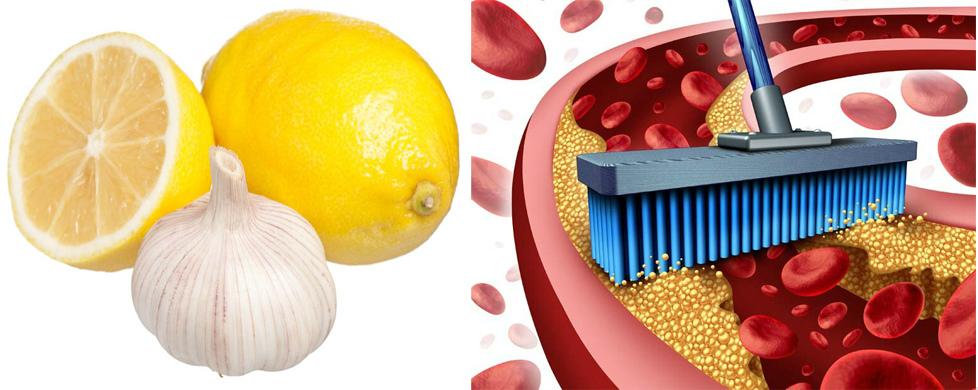Сочетание чеснока с лимон