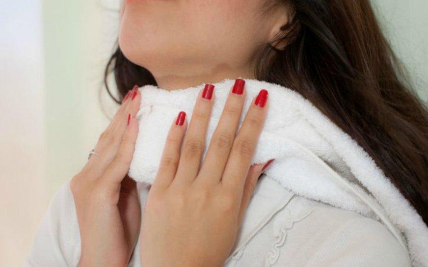 Компрессы при простуде