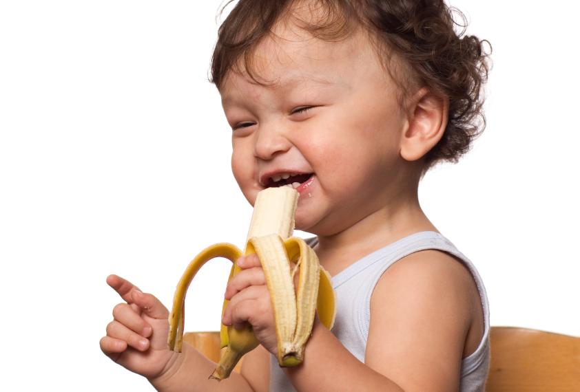 С какого возраста ребенку можно давать банан