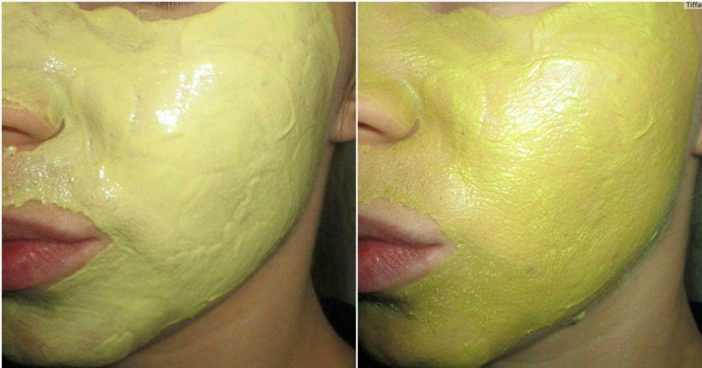 Глиняная маска с лимонным фрешем