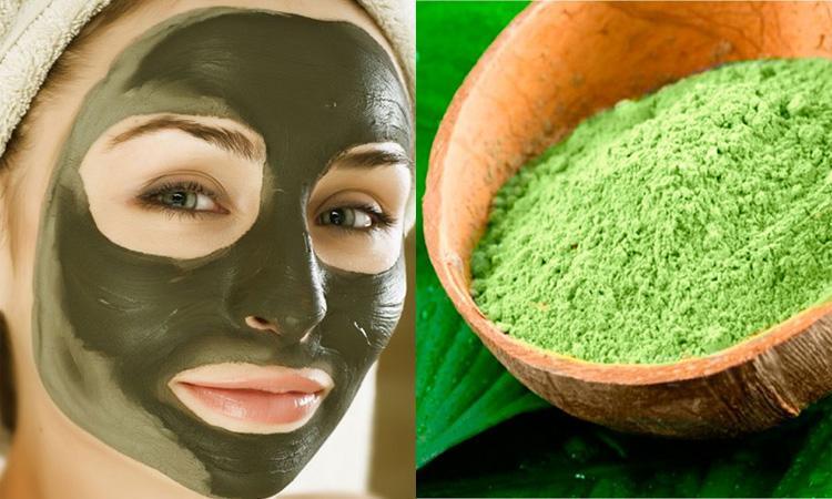 С зеленой глиной