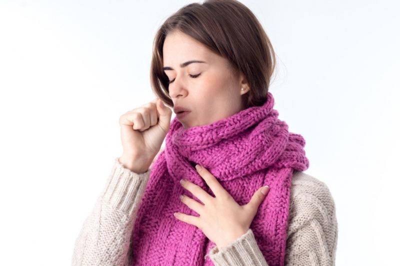 Длительный сухой кашель