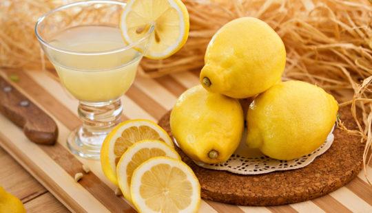 Лимон для печени