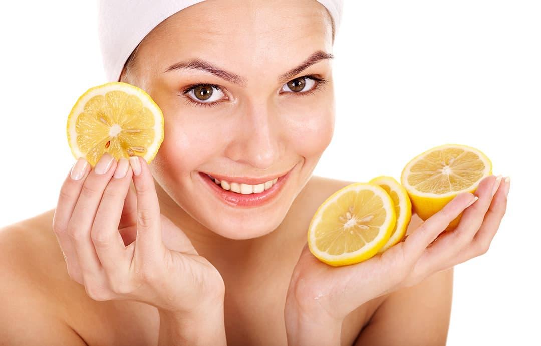 Лимон от пигментных пятен