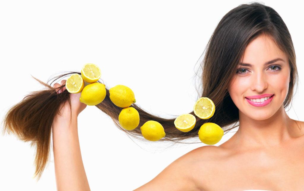 Лимон для здоровья волос