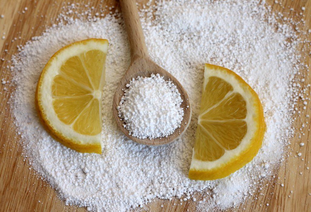Маска из лимонной кислоты
