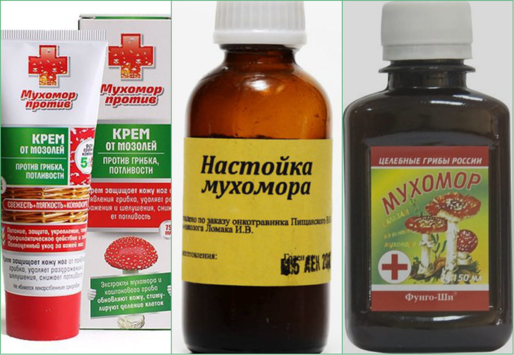 Препараты из мухомора