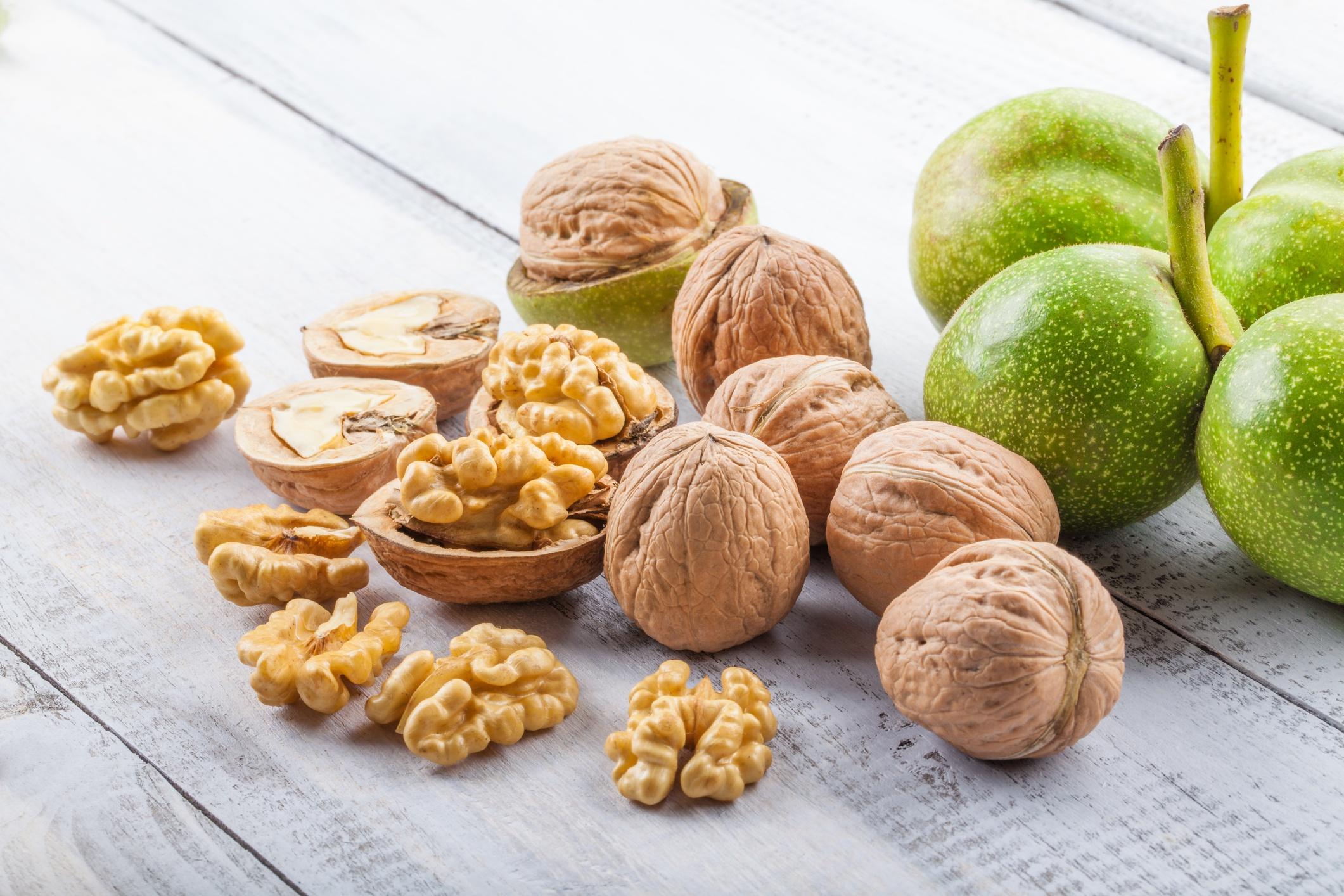 Зеленые грецкие орехи от щитовидки рецепт