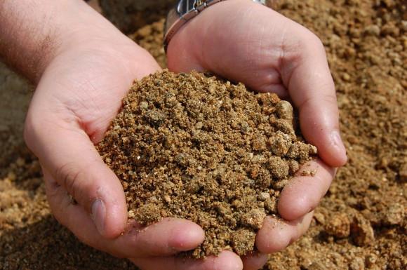 Песочно-торфяной грунт