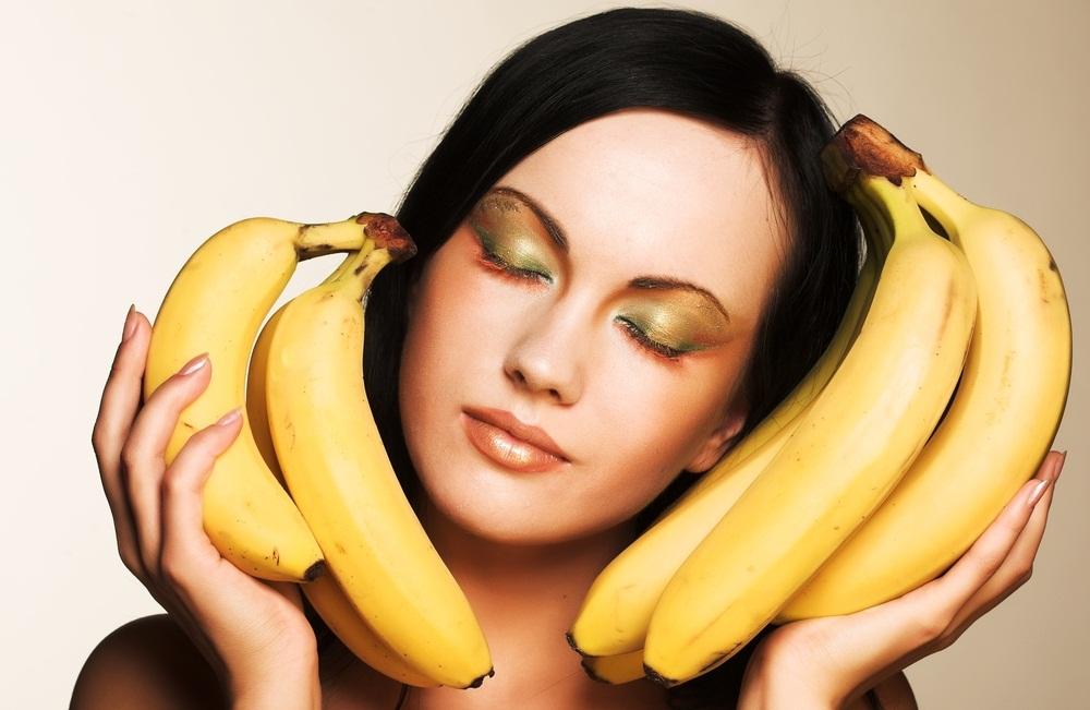Польза банана для волос