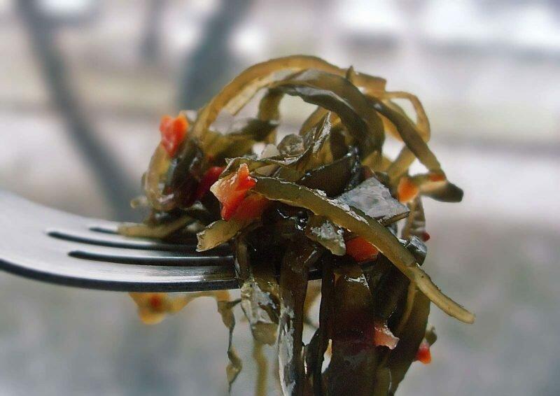 морская капуста калорийность