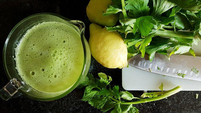 Сельдерей и лимон