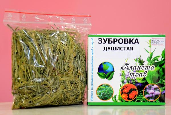 Зубровка трава в аптеках