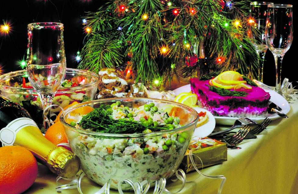 Гости на пороге 5 салатов к новогоднему