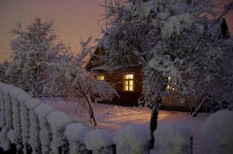 Как быстро прогреть дачный домик в самые сильные морозы