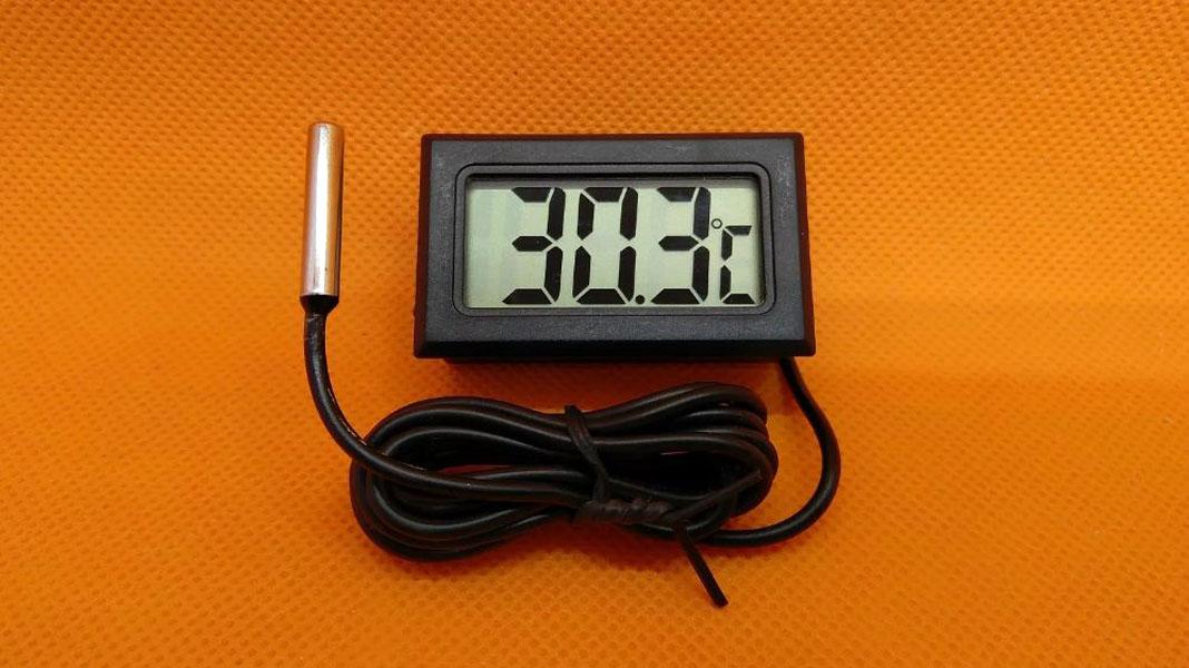 Дистанционный термометр на батарейках