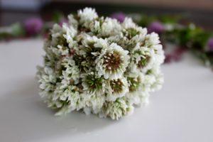 букет, белые цветы, стол
