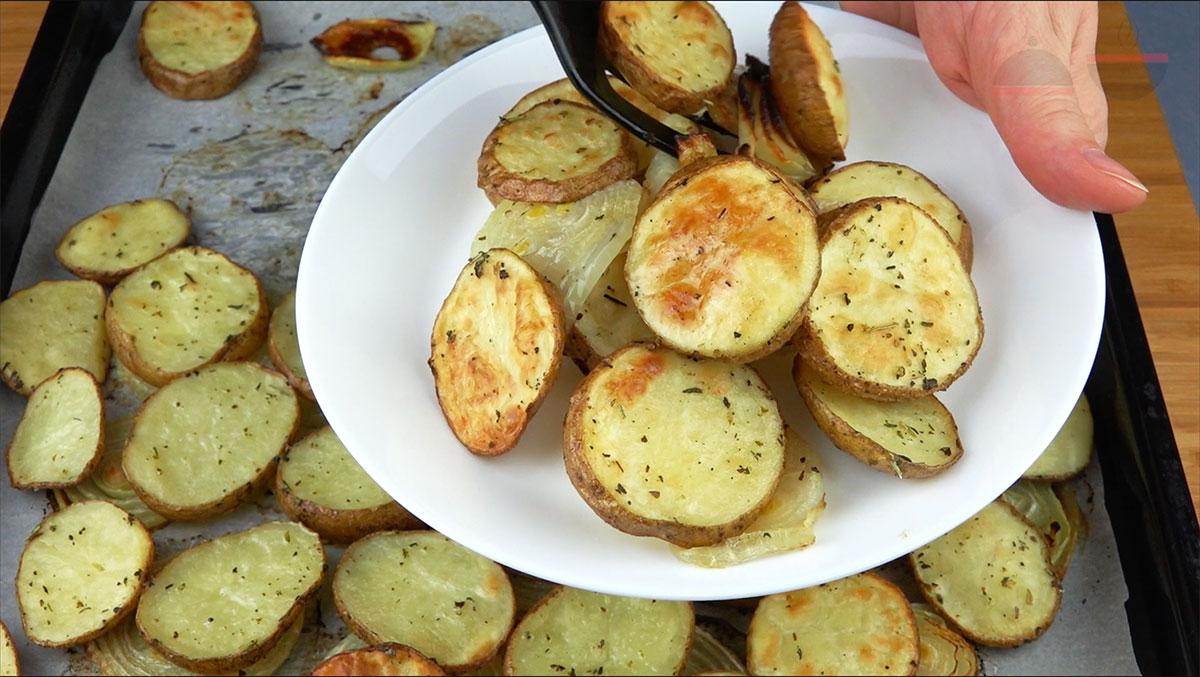 Надутый картофель