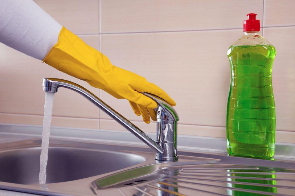 Мытье без разводов