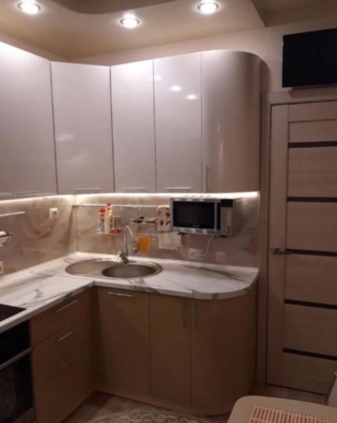 Кухня 6 кв м, которая не надоест