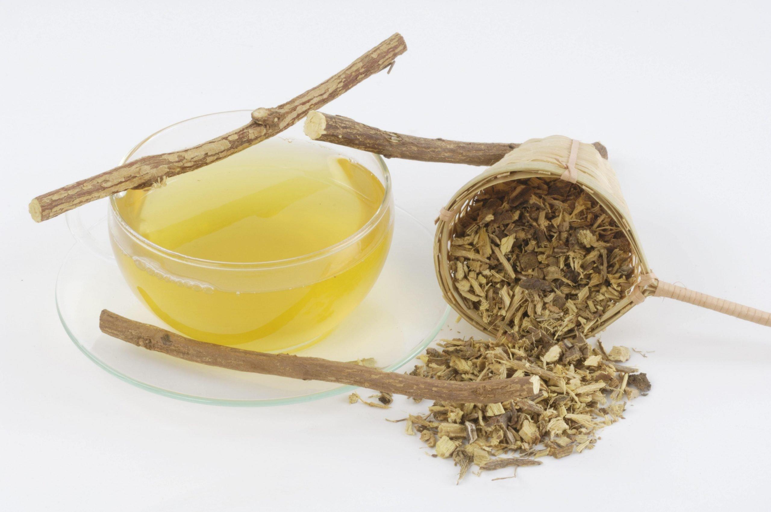 Травяной чай из корня солодки