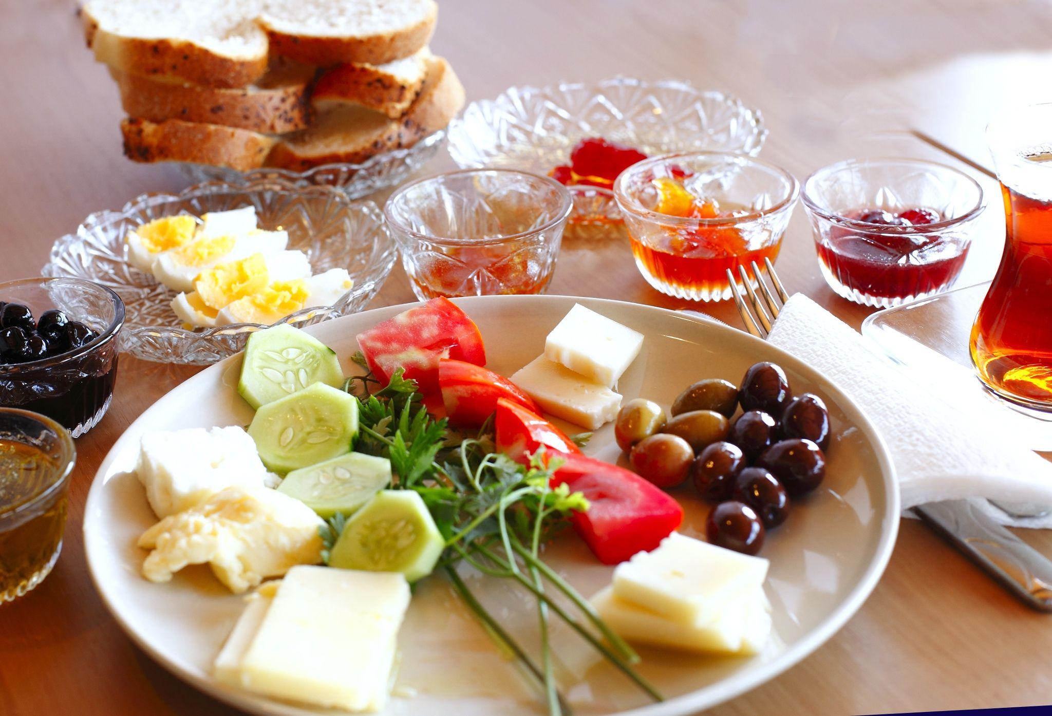 Завтрак азербайджанский