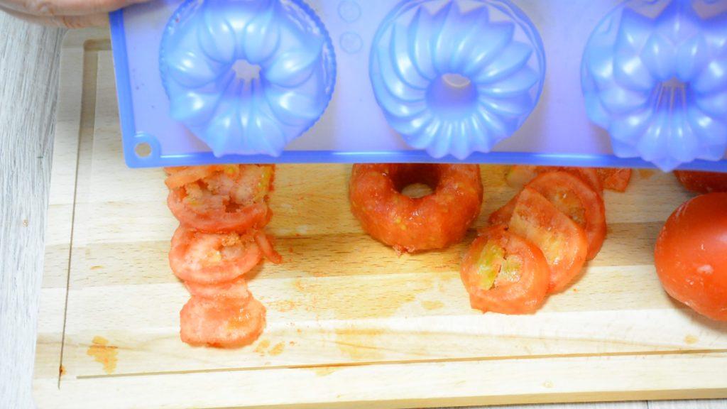 Заморозка измельченных помидор
