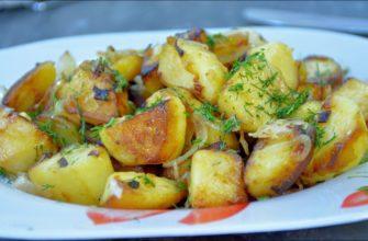 Как пожарить картофель мягкий внутри и с хрустящей корочкой снаружи