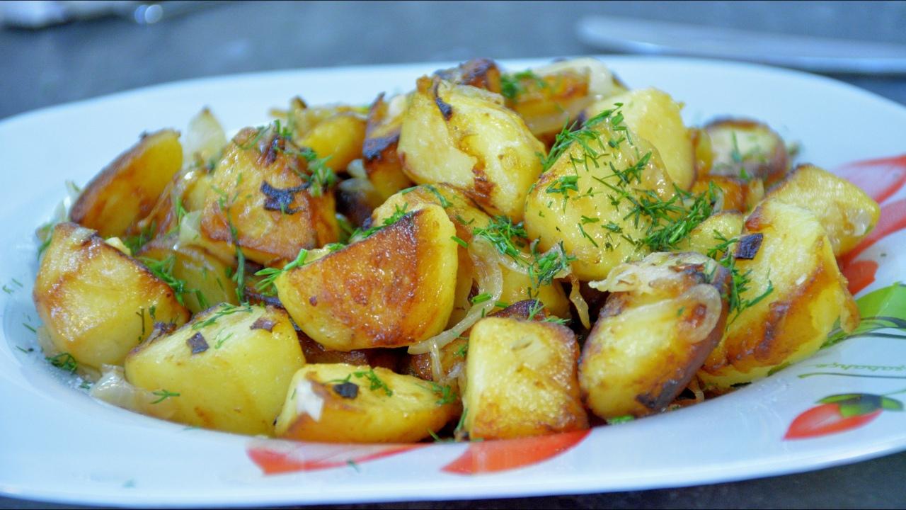 Рецепт вкуснейшего жареного картофеля