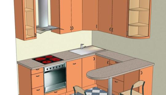 как разместить все на кухне