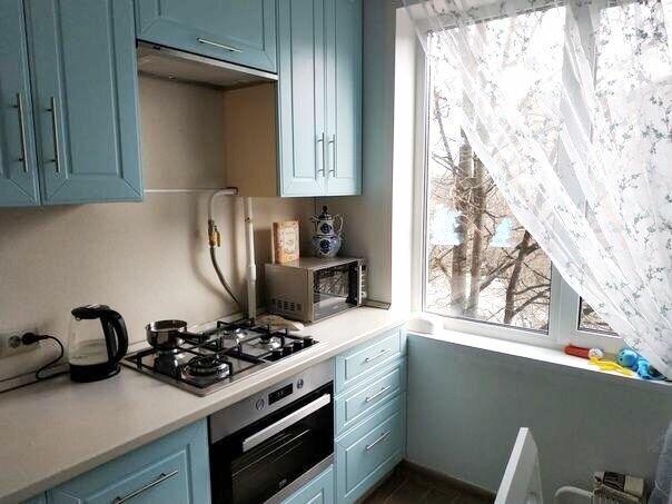 кухня в хрущевке обзор