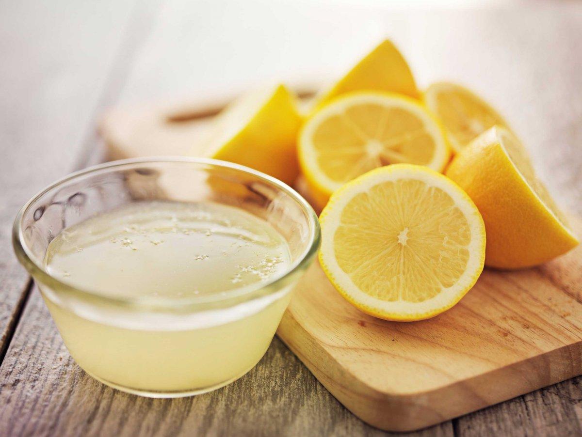 Смесь с лимоном