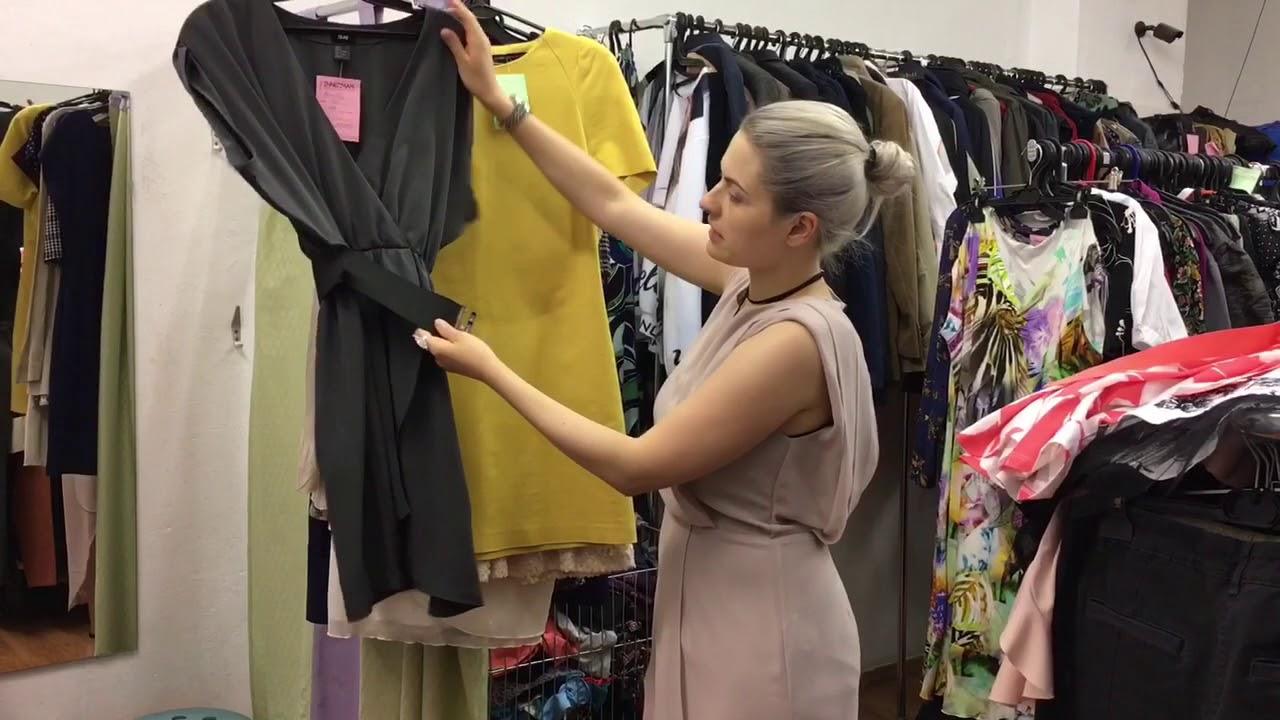 Моя жена покупает одежду в секонд-хэнде
