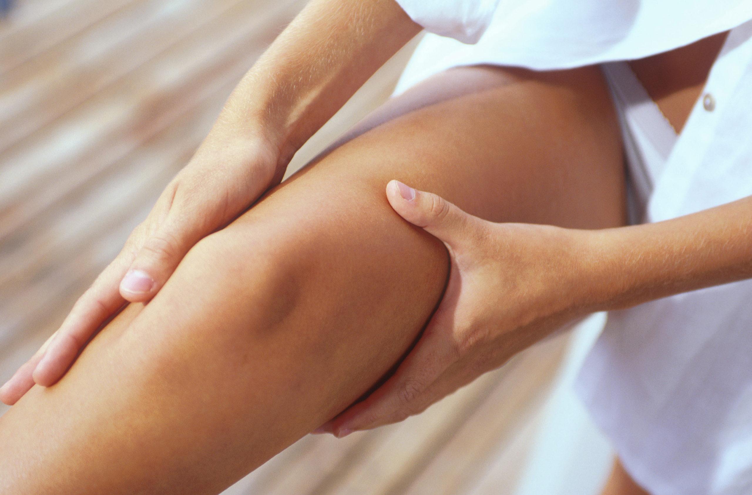 Точка на ноге для лечения